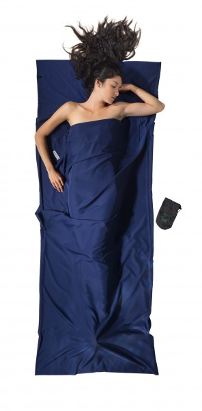 Cocoon Travelsheet Microfiber - Blue