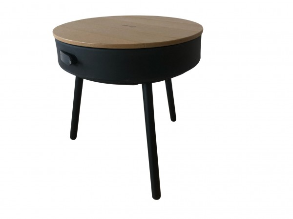 CHARGING MUSIC TABLE BROWN