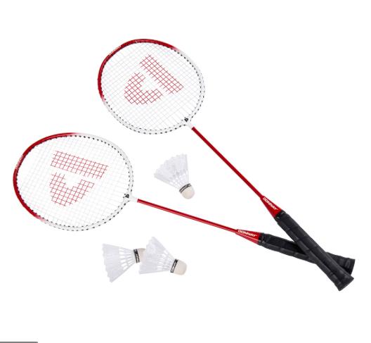Badmintonset 2 Rackets 3 Shuttle