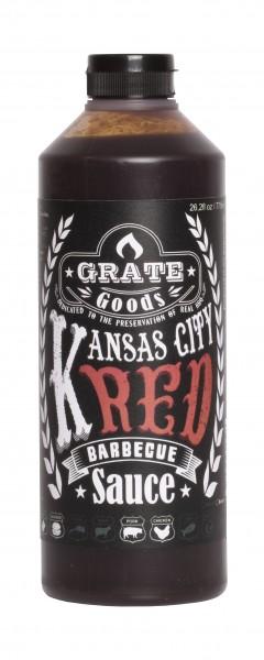 Kansas City Red Barbecue Sauce 265 Ml
