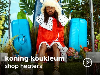 Koning van de Camping terrasverwarming