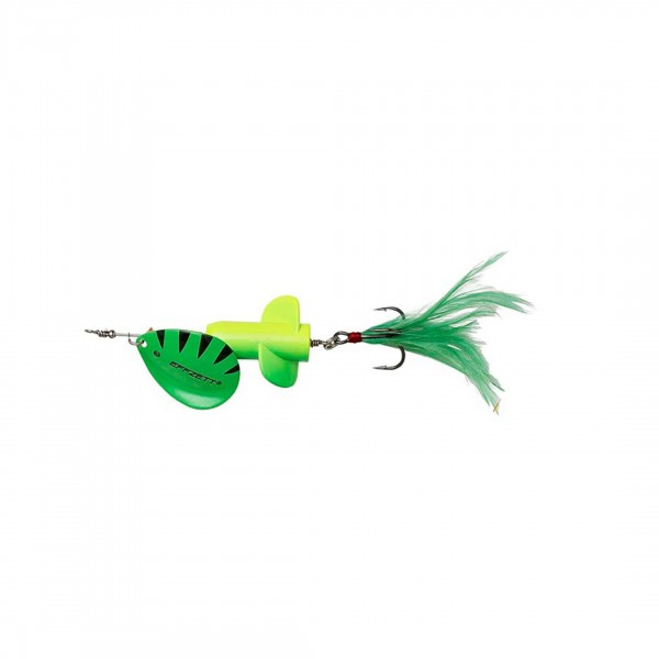 Dam Effzett Rattlin' Spinner Size 6 13Cm 25G Fluo Yellow Green