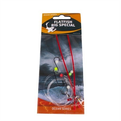 Flatfish Rig Special 3-Hooks