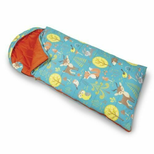 Woodland-Children's-Sleeping-Bag