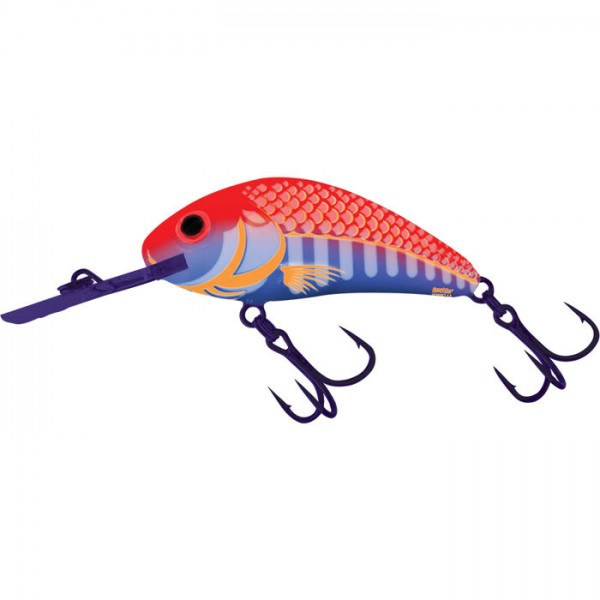 Salmo Rattlin'Hornet Floating 6.5Cm Ultraviolet Orange