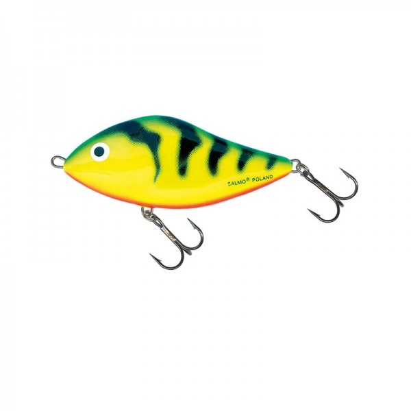 Salmo Fatso Floating 10Cm Green Tiger