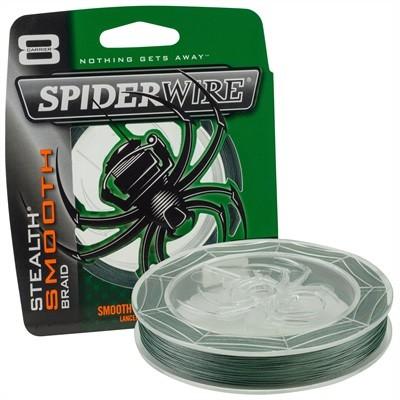 Spiderwire Stealth Smooth 8 240M 0.40Mm - Groen